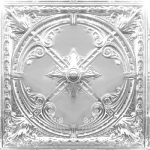Compass Rose - Tin Ceiling Tile - 24x24 - 2453
