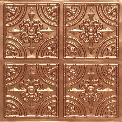 205 Copper Faux Tin Ceiling Tile