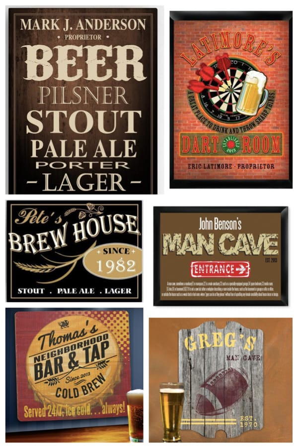 Man Cave Signs & Decor